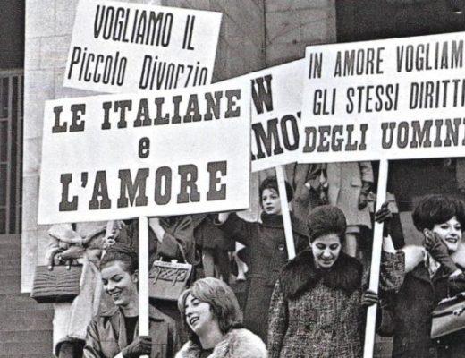 manifestazione 1962 le italiane e la sessualità filosofemme articolo elena magalotti